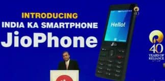Reliance Jio launches JioPhone for zero cost