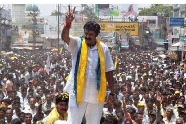 Actor-turned-TDP MLA Balakrishna slaps supporter clicking a selfie in Nandyal