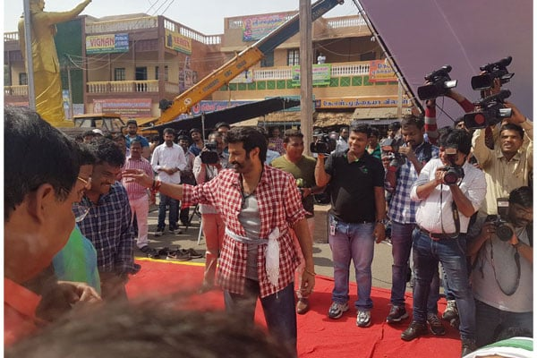 Balakrishna Starts Shooting for Next Film Directed by KS Ravi Kumar