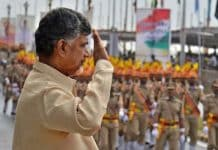 Andhra Pradesh CM hoists tricolour in Tirupati