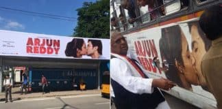 Congress leader VH tears 'Arjun Reddy' posters
