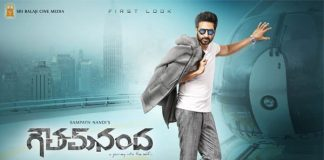 Goutham Nanda 1st week Collections