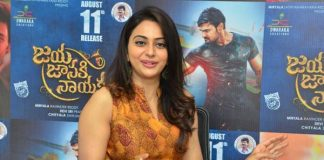 I Have Used Lot of Glycerin in Jaya Janaki Nayaka Rakul Interview