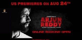 ARJUN REDDY Premieres Tomorrow. Book Your Tickets
