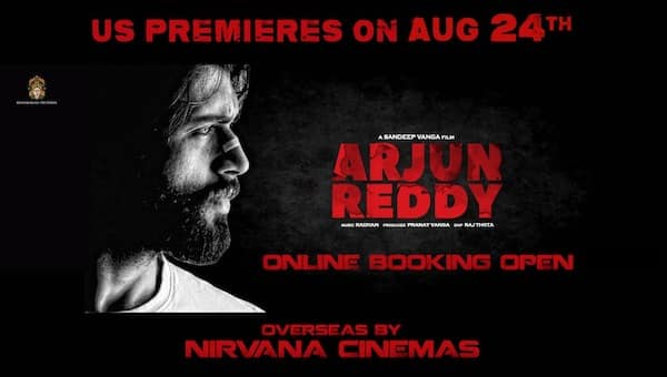 ARJUN REDDY Premieres Tomorrow. Book Your Tickets
