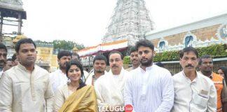 LIE Team Visits Tirumala