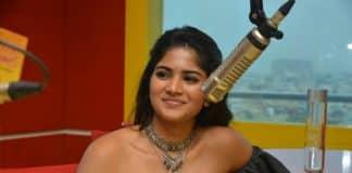 Megha Akash at Radio Mirchi