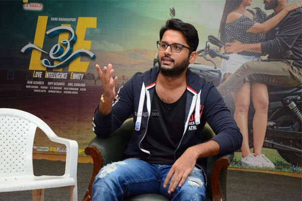 Nithiin in a never before seen avatar in 'Lie'