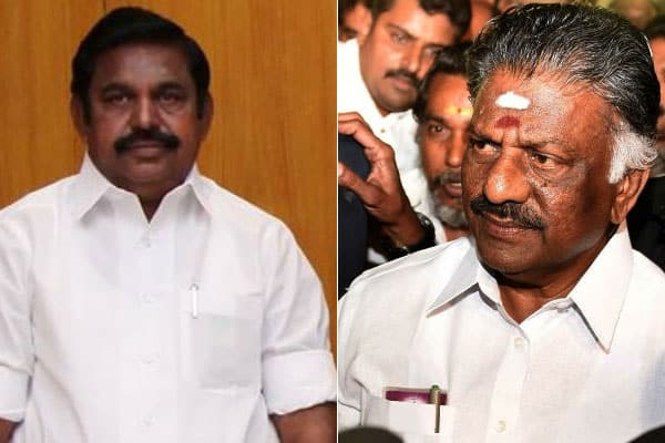 Two AIADMK factions likely to merge on Monday