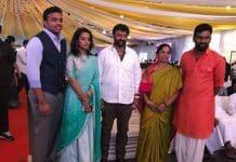 Paritala Sriram gets engaged to Alam Gnanavi