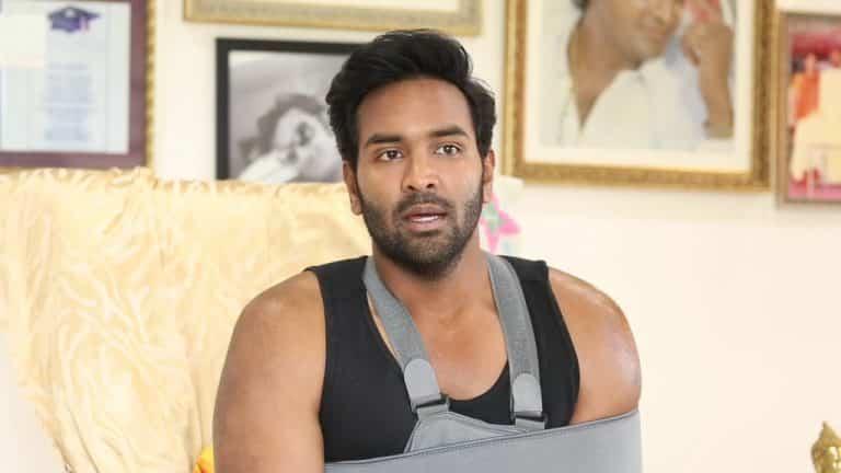 Vishnu's emotional video message for his fans