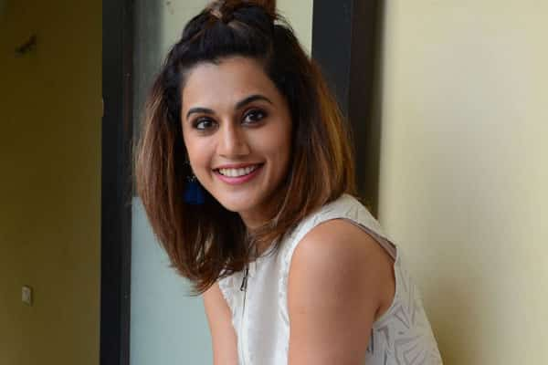 Taapsee signed 'Anando Brahma' on profit-sharing basis