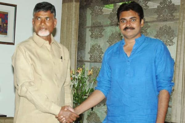 Chandrababu showers praises on Pawan Kalyan on his birthday