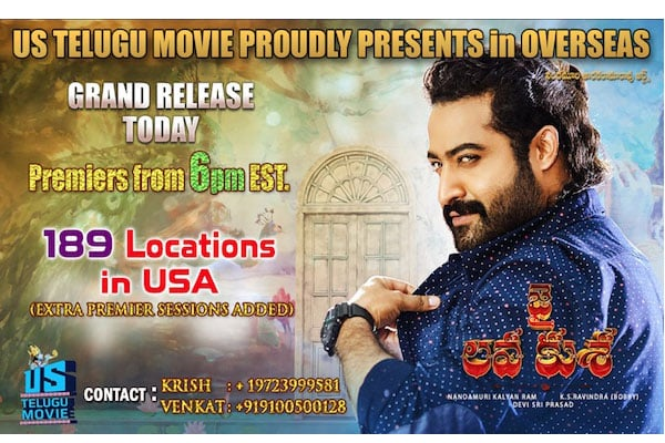 Jai Lava Kusa – Get ready to roar at US Box office
