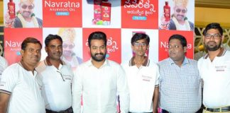 NTR at Navratna Oil Press Meet