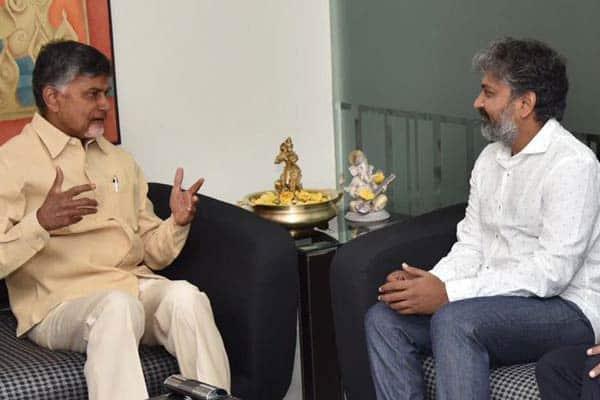 Rajamauli met Babu on Amaravati. Should Polavaram be given to VV Vinayak?