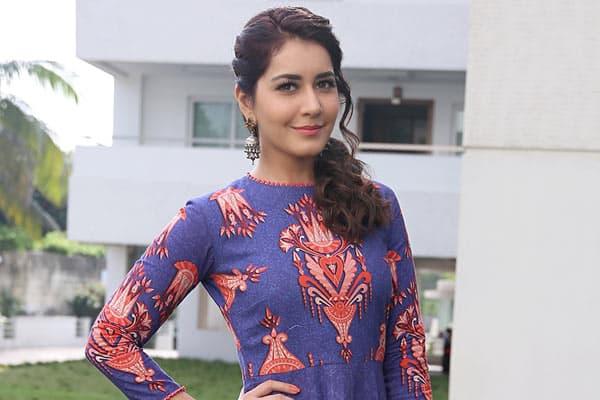 Raashi Khanna signs an Item Number
