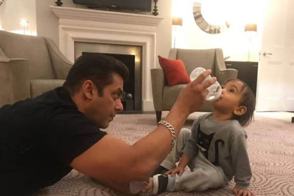 Salman Khan's awwdorable picture with his nephew