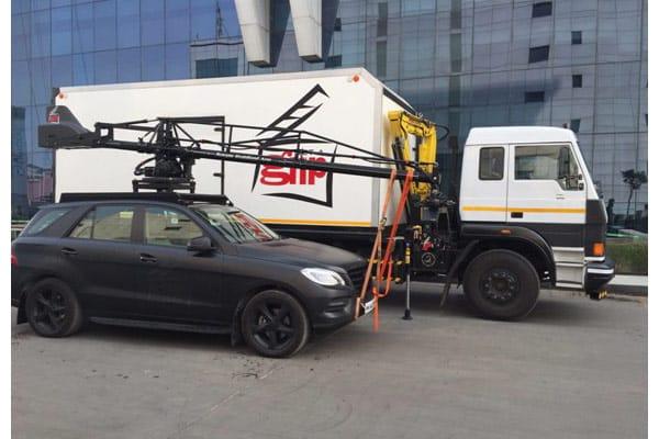 Exclusive: Scorpio Stabilized Arm's First Time Usage in a Telugu Film
