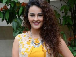 Seerat Kapoor at Raju Gari Gadhi 2 Trailer launch