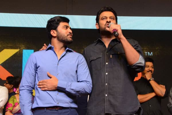 Prabhas is a fan of Sharwa's Attitude