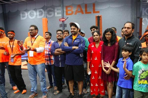 Sai Dharam Tej brand ambassador for Sky Zone Park