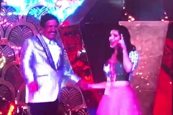 Sunny Leone with Reddy Garu