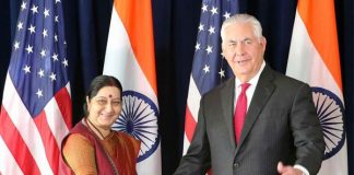 Sushma Swaraj takes up H1B visas with US