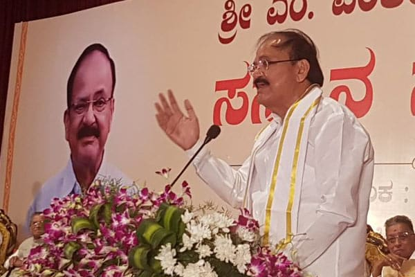 Indians should speak in their mother tongue more, less in English: Naidu
