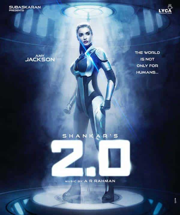 Amy Jackson's striking first look in 2.0 goes viral