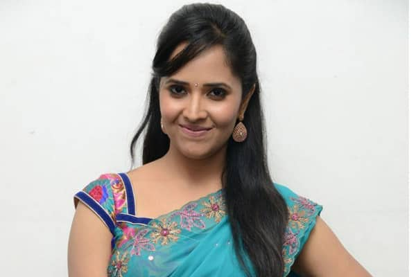 Anasuya Playing Lead opposite Comedian