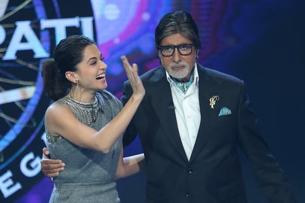 Big B is pure addiction: Taapsee Pannu