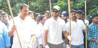 Mahanubhavudu team particpates in Swachh Bharat