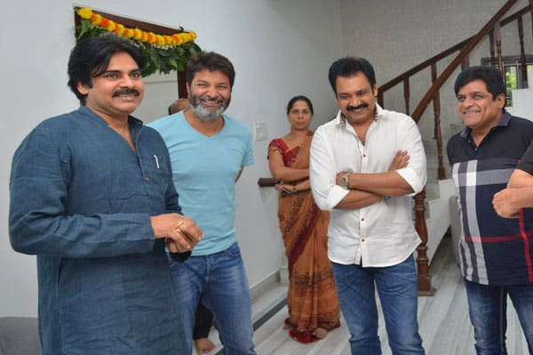 Janasena tickets confirmed for Trivikram and Ali??