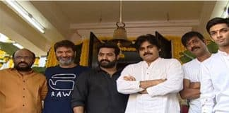 Pawan's clap for NTR's Next