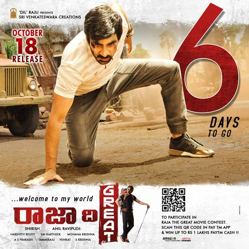 Ravi Teja's Biggest Raja The Great in USA
