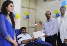 Balakrishna donates blood