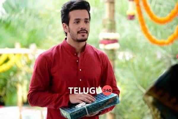 Akhil in Hello