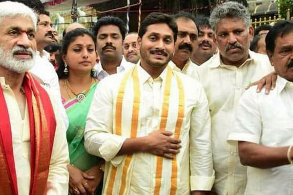 Jagan flouts Tirumala Tirupati TTD norms yet again