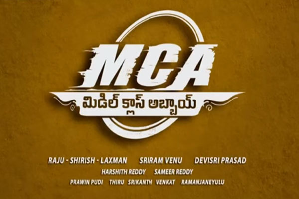 MCA Teaser: The other side of Nani