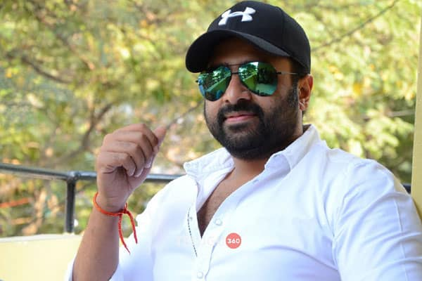 Nara Rohit to produce young actor's next
