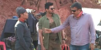 Saakshyam On location Exclusive pics