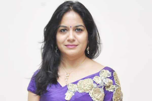 Singer Sunitha's indirect comments on TS government