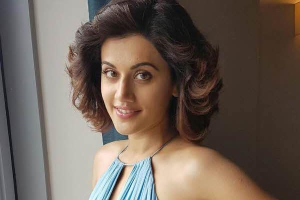 Taapsee starts filming for Sandeep Singh's biopic