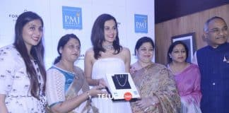 Actress Taapsee Pannu at PMJ Diamonds And Jewellers