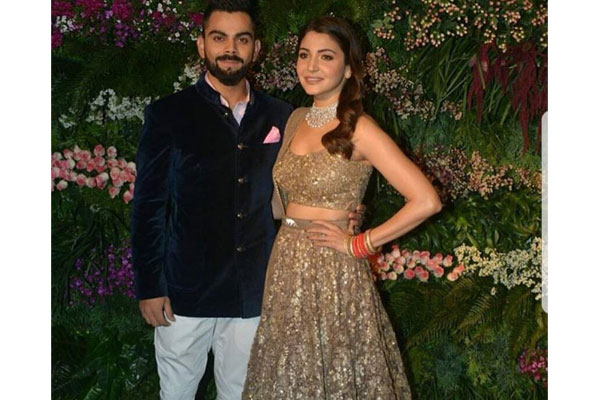 Anushka, Virat Kohli hold second, star-studded reception in Mumbai