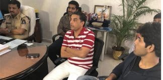 Dil Raju and Allu Sirish Met Hyderabad Cyber Crime Police
