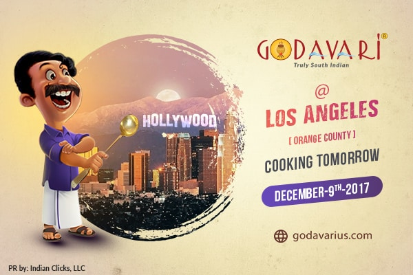 GODAVARI to FLOW in LOS ANGELES this WEEKEND