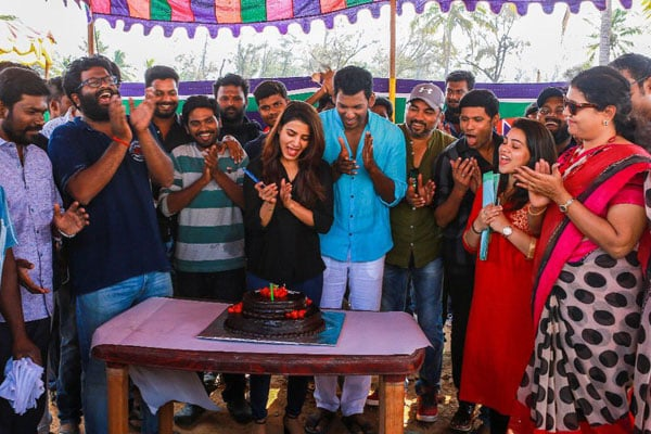 It's a wrap for Vishal's Abhimanyudu
