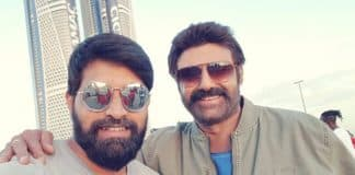 Jai Simha shoot done and dusted